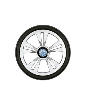 Запасное колесо 20 см, серебристое