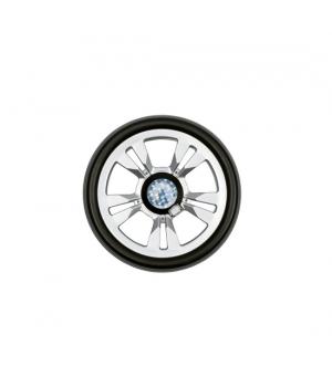 Запасное колесо 15 см, серебристое