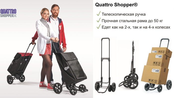 Quattro Shopper®