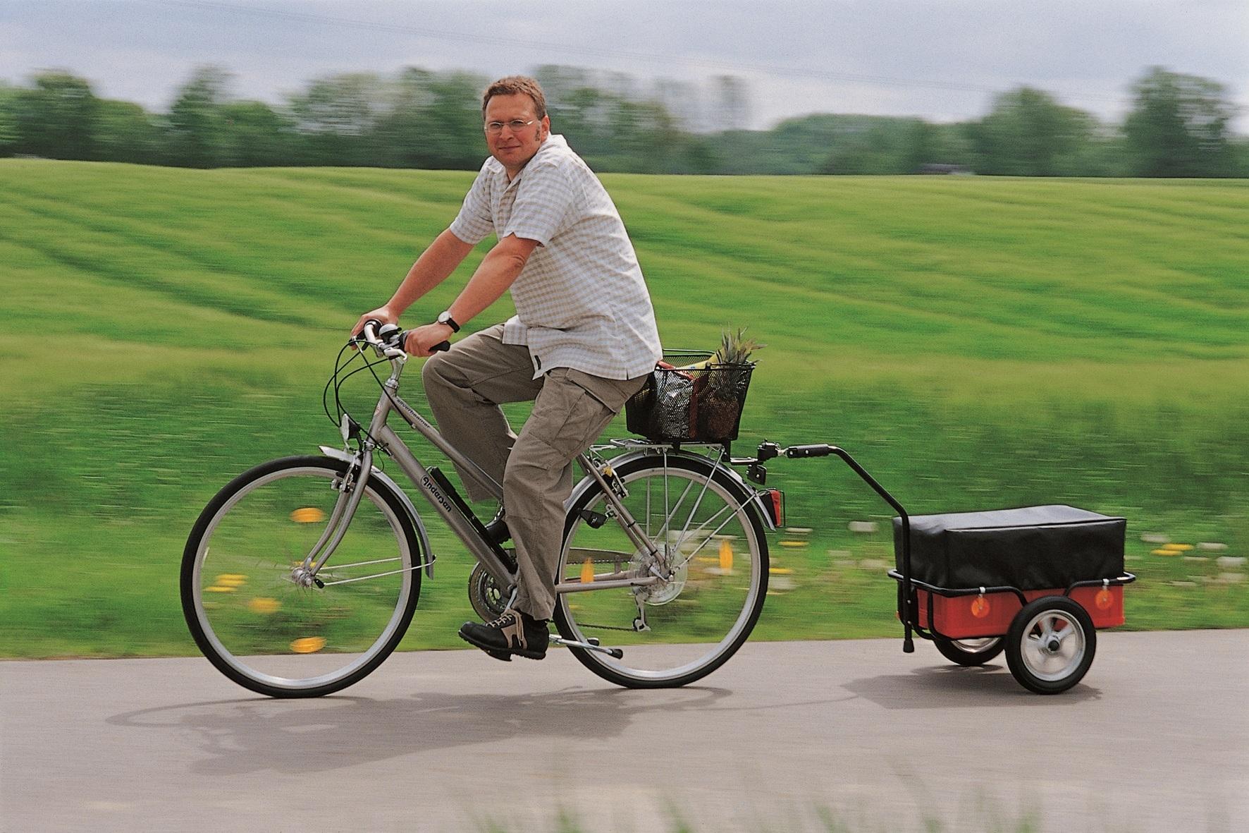 Велосипедный прицеп: разновидности и как сделать его