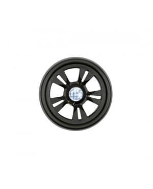 Запасное колесо 15 см, черное